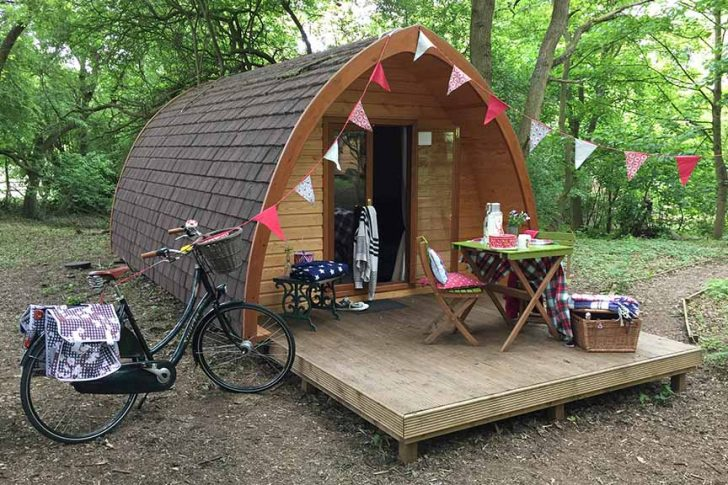 Mothering Sunday Stays at West Stow Pods