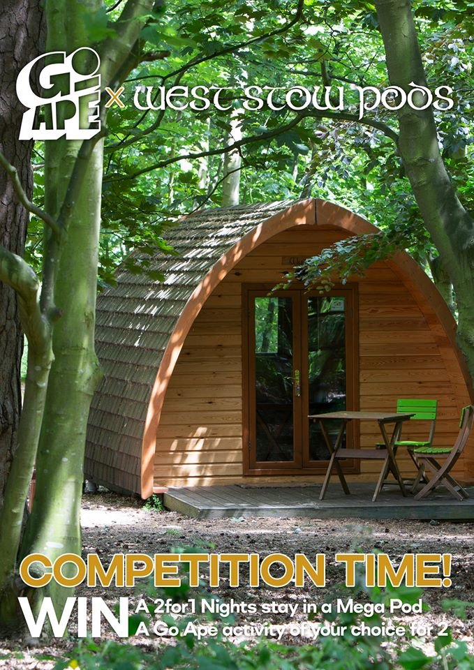Go Ape West Stow Pods contest