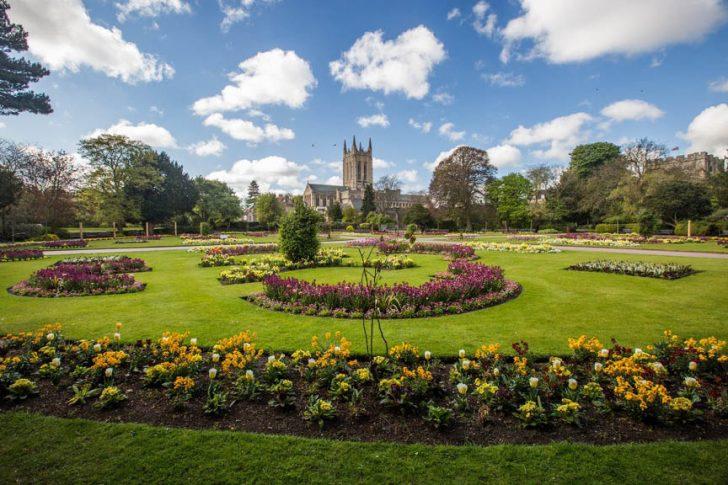 Bury St Edmunds Abbey Gardens