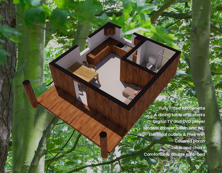 Cedar Lodge Isometric View