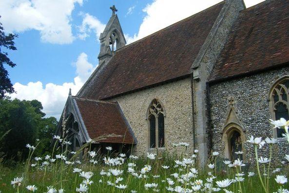 Church Walks West Stow